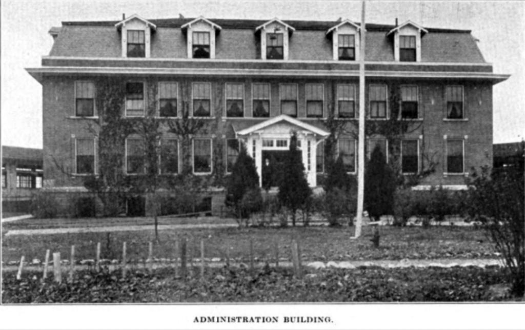 Administration Building in early 1920s