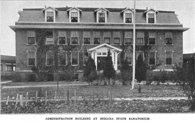 Vintage photo of the Administration Building